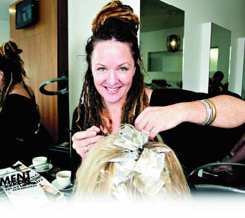 GOOD LISTENER: Leah Copedo, of Toni & Guy Salon, Cotton Tree, values relationships with her clients.