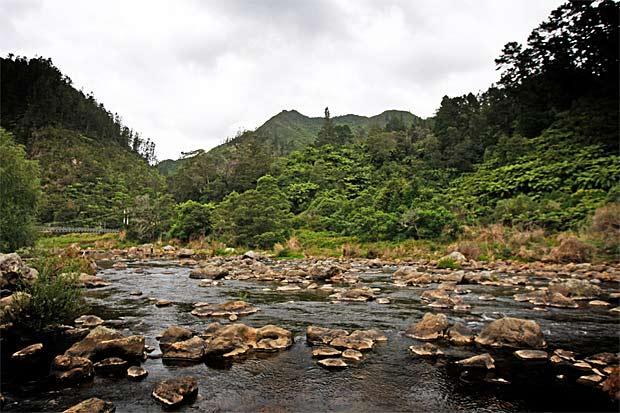 Karangahake Gorge.