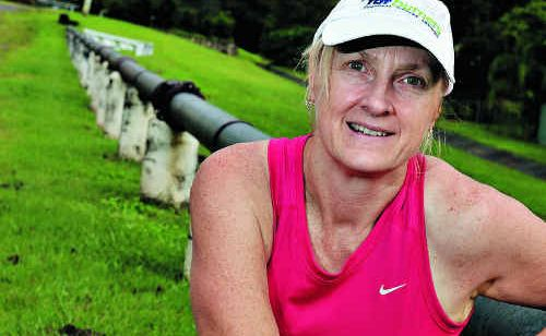 Melissa Taylor is relatively new to the sport of marathon running and will compete in the upcoming Gold Coast marathon.