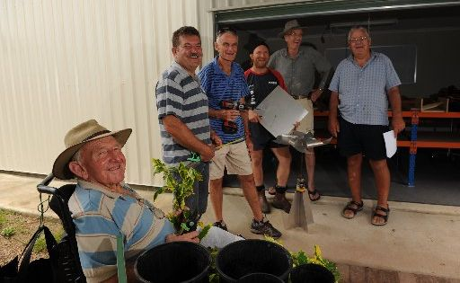 Nambour's community Men's Shed will open shortly. Known as the