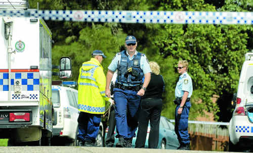 Police and ambulance officers were called to Shearman Dr in Goonellabah after a man was fatally stabbed.