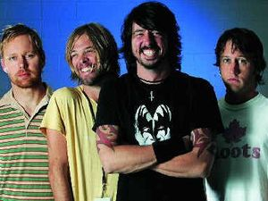 Foo Fighters go 3D