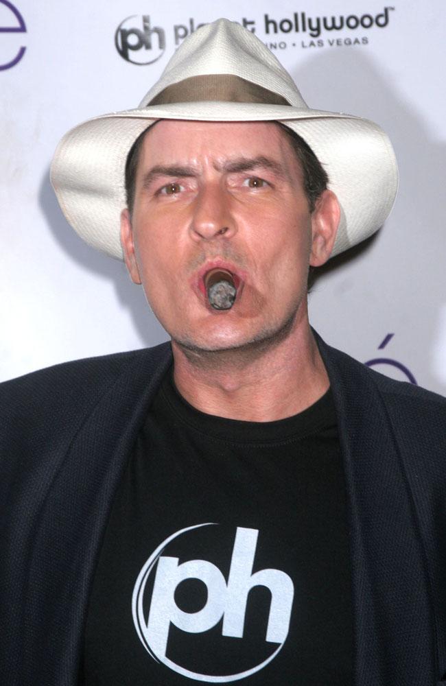 Charlie Sheen.