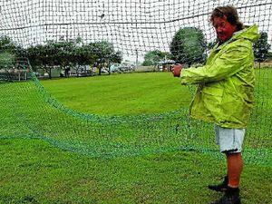 Vandals cut holes in soccer nets