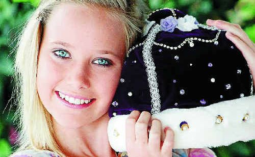 2010 Junior Jacaranda Queen Sophie Brindle says she had a wonderful time as part of the royal party and is now ready to hand over her crown in October.