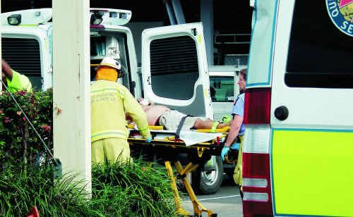 Hervey Bay painter John Appelhof was electrocuted on the job yesterday afternoon.