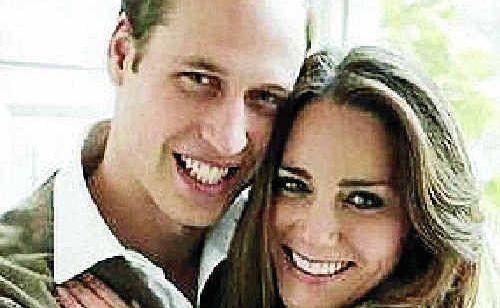 Prince William & Catherine Middleton.