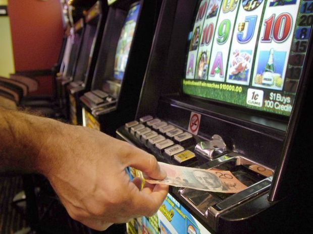 $10m was lost on poker machines on the Sunshine Coast last year.