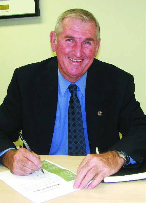 Isaac Region Mayor Cedric Marshall.