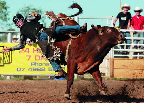 Saturday's rodeo is sure to be a highlight of May Day celebrations in Blackwater this weekend.