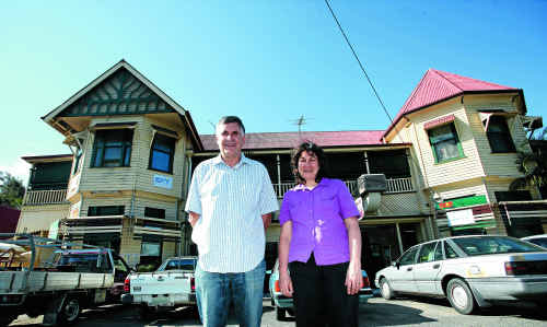 Larry and Christine Finn have put the historic Lakes Creek Hotel up for sale.