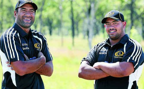 Brahmans second rower Lance Robb and hooker Tom Hale know a lot will depend on them against Townsville.