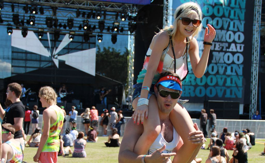 Groovin' the Moo promoter Stephen Halpin joked that some residents may find they have the