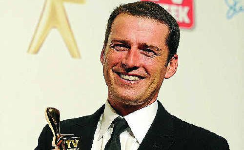 Karl Stefanovic from the the Today show holds on to his Gold Logie for most popular personality on TV on Sunday.