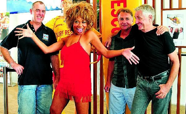Rebecca O'Connor, the Tina Turner look-alike, will start her tour from Noosa Heads Surf Club.