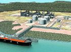 LNG work on track