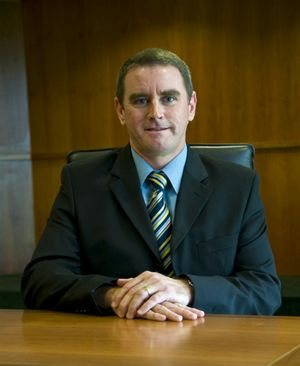 Gladstone Regional Council CEO Stuart Randle.