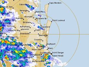 Cancellation of severe thunderstorm warning for SEQ