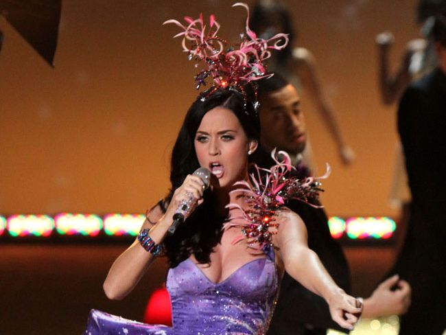 HUGE HIT: Katy Perry is one of the major artists considered for this year's carols.