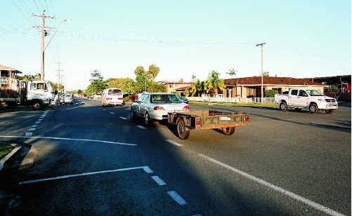 Alfred Street in Mackay is one of the top priorities for the region under the Local Area Traffic Management Program, which addresses concerns with speed and the number of crashes.