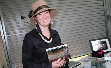 FLOOD OF MEMORIES: Taroom resident Amanda Teale has collated a book of flood photos to raise funds for Taroom's flood victims.
