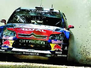 Champions on target for Rally