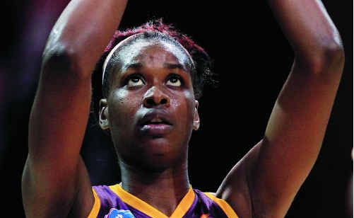 Romelda Aiken will need to be on target for the Queensland Firebirds in their major semi-final tonight.