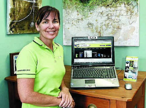 Devine Art Online's Katrina Elliott wants the National Broadband Network rolled out quickly.