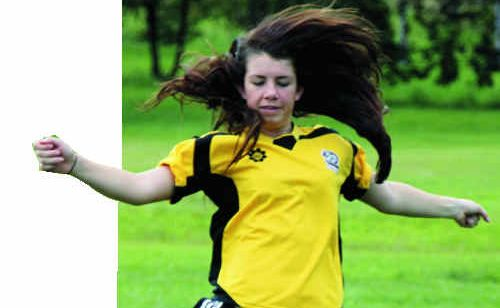Graftons Laura Phillips in training for the upcoming tour of Germany after being selected for the Joeys tour in June.