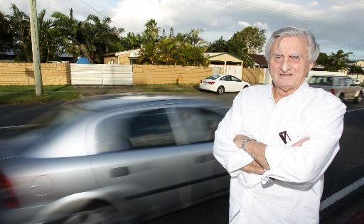 Nicklin Way resident Ray Perks is angry that his home will be resumed by Main Roads for the CoastConnect plan