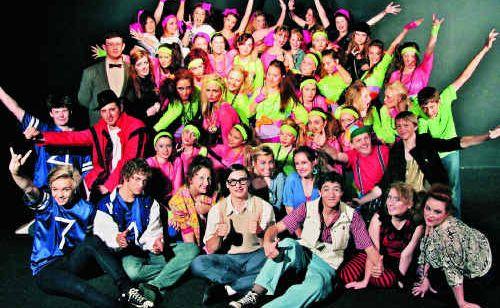 80s Nostalgia On Show At College