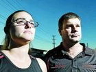 Lismore residents Carmilla and Kris Hoggan are upset over rising council rates and charges.