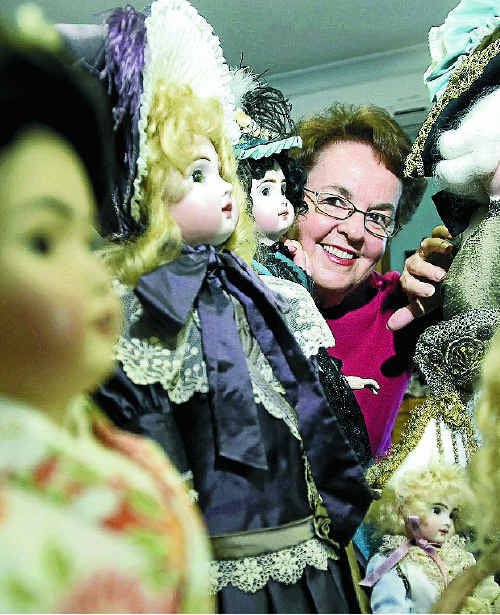 Porcelain-doll maker Coleen Anderson, of Tintenbar, who specialises in antique reproductions, will exhibit her dolls at the Alstonville Rotary Antiques Fair this weekend.