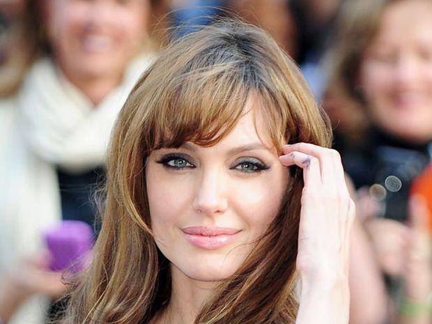 WELCOME: Angelina Jolie.