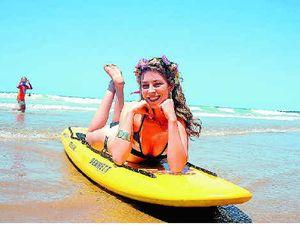 Surf Girl comp dropped for fun run