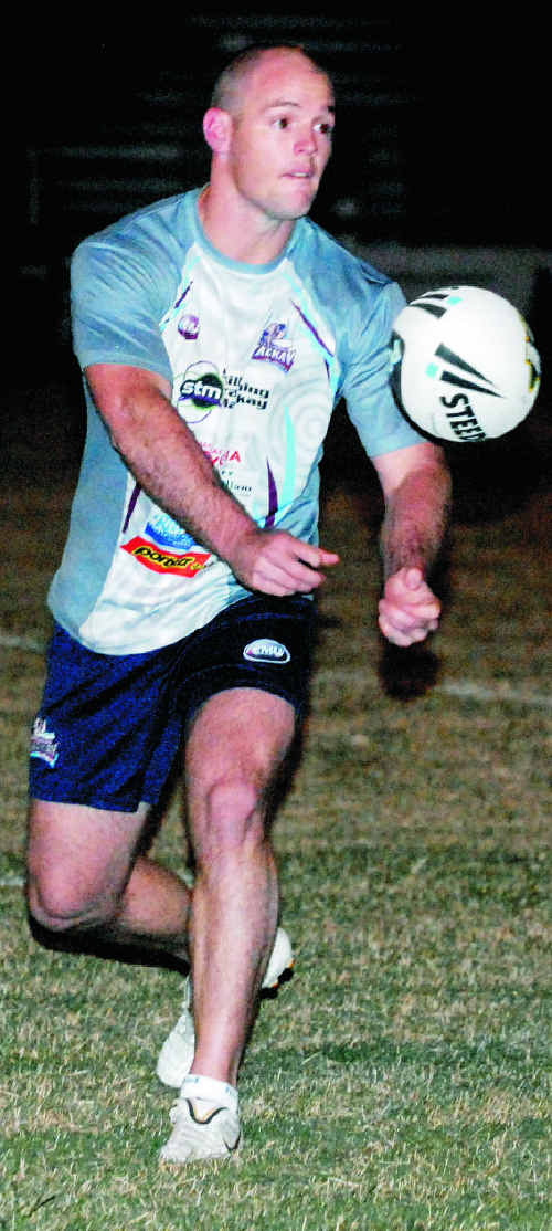 Cutters captain Grant Rovelli.