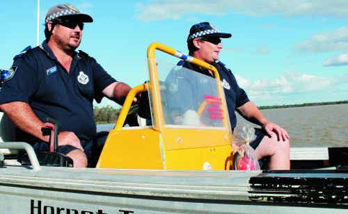Water police said boaties were mostly well behaved during the May Day weekend.