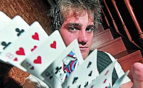 ALL TRICKS: Magician Ben Wright helps people believe in magic again.