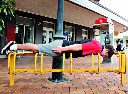 Planker Nick Powell says planks responsibly, and took the recent planking-related death as a warning to do it safely.