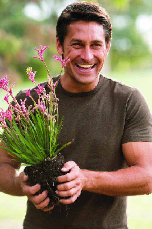 Horticulturalist, landscape designer and television personality Jamie Durie has been chosen to rejuvenate the gardens of Hayman Island resort.