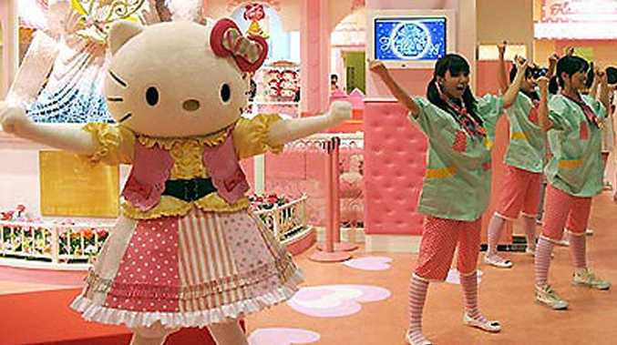 A Hello Kitty theme park is to be built in China.