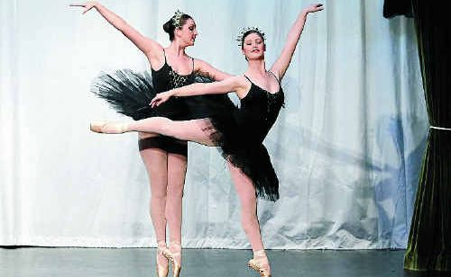Dancers from the Clarence River Dance Academy Open Ballet Troupe in their winning performance at the Lower Clarence Dance Eisteddfod.