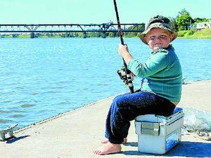 Fishing action hot despite cold