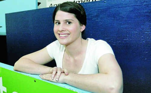 Rockhampton basketballer Alexandra Brady is on the way back after a knee reconstruction cruelled her chances of turning out for the Cyclones in 2011.