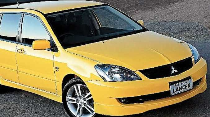 The 2005 Mitsubishi Lancer VRX wagon.