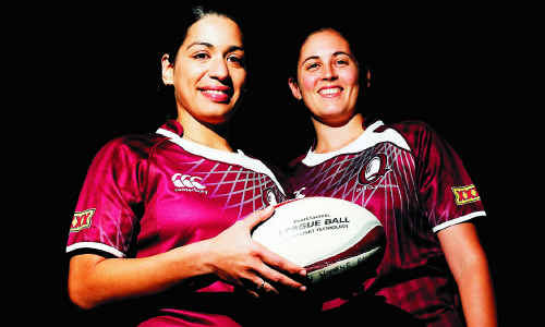 Springfield locals Suzanne Johnson and Erin Elliott will be playing for the ARL Queensland women's State of Origin team. The women's Queensland side have been undefeated for 11 years.