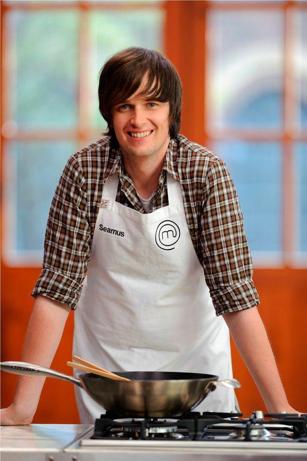 Graphic designer Seamus Ashley has been eliminated from the MasterChef kitchen.