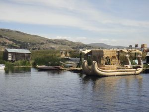 A day on the water at Lake Titicaca