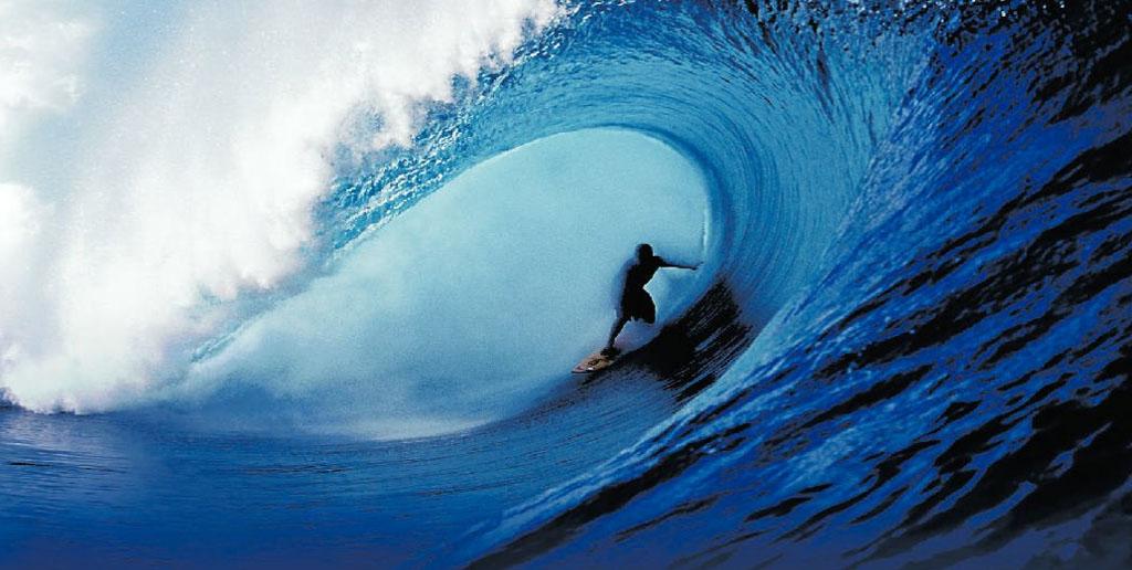 Tahitian big wave rider Raimana VanBastoeler at Teahupoo.