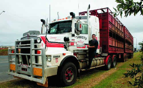 Main Roads opposition spokesman Mark Robinson hitched a ride in a truck from Rockhampton to Mackay to survey the state of the Bruce Hwy ahead of the regional sitting of State Parliament in Mackay.